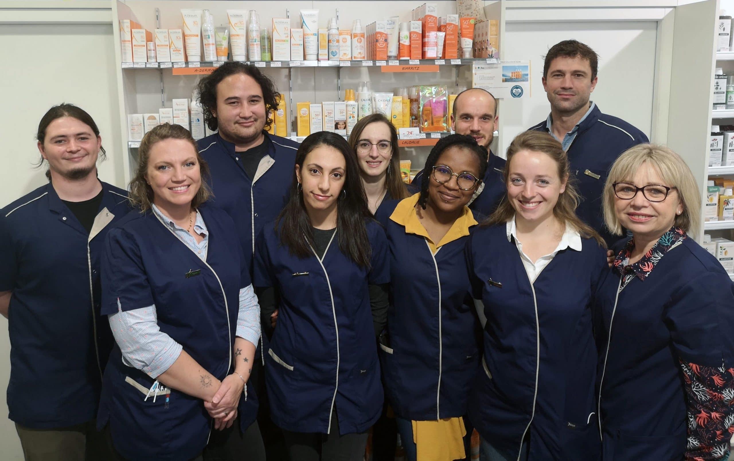 Équipe Pharmacie Terres Neuves