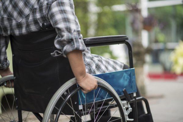 Matériel médical, chaise roulante